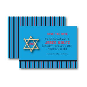 All Star FLA Baseball Save the Date Card