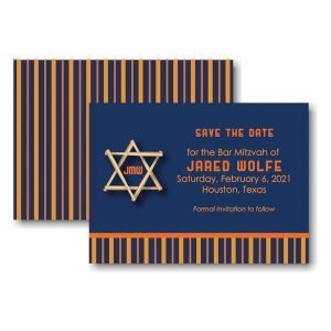 All Star HOU Save the Date Card