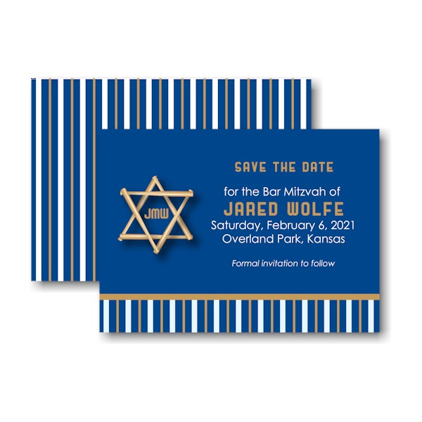 All Star KAN Save the Date Card