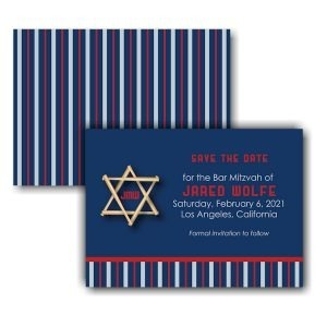 All Star LAA Baseball Save the Date Card