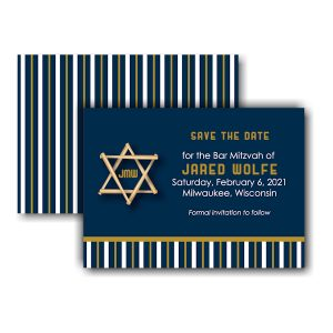 All Star MIL Save the Date Card