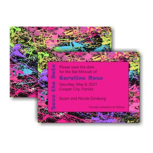 Caroline Rose Save the Date Card