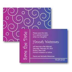 Hannah Rose Save the Date Card Icon