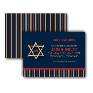 All Star MIN Save the Date Card