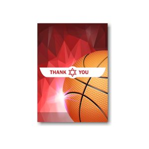 Hoop it Up Thank You Note