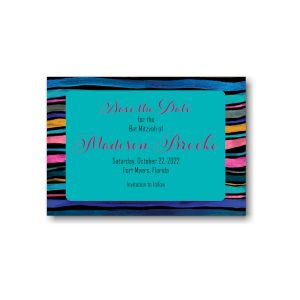 Madison Brooke Save the Date Card Sample