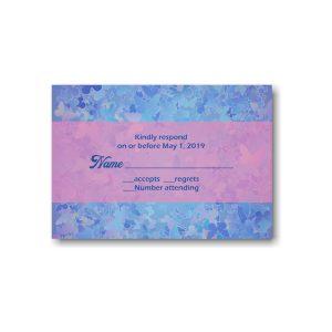 Talia Elizabeth Response Card