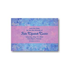 Talia Elizabeth Save the Date Card