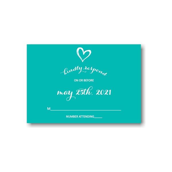 Tiffany Rae Response Card