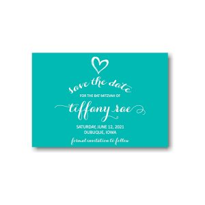 Tiffany Rae Save the Date Card Sample