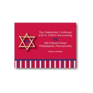 All Star PHI Reception Card