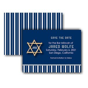 All Star SD Save the Date Card