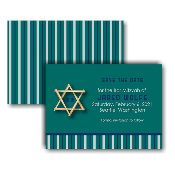 All Star SEA Save the Date Card Sample
