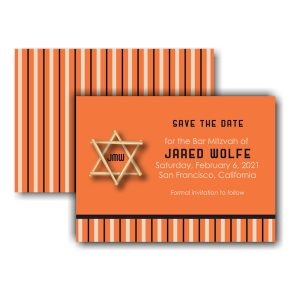All Star SF Save the Date Card Sample
