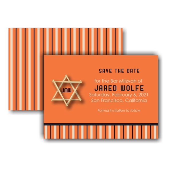 All Star SF Save the Date Card