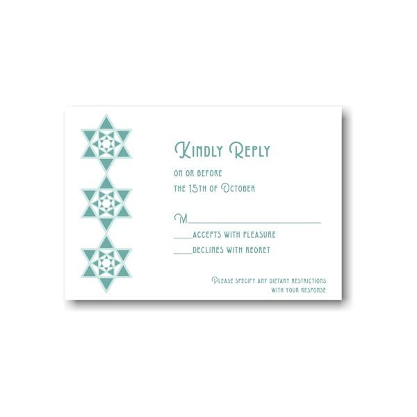 Celebration Stars Response Card