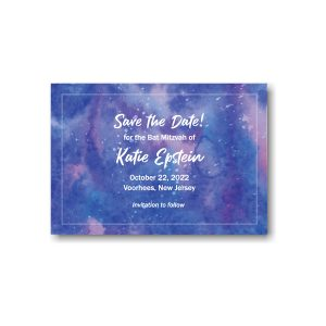 Out of This World Save the Date Card