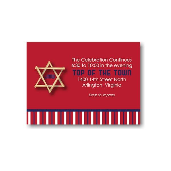 All Star WSH Reception Card