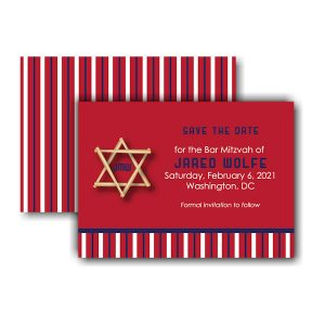 All Star WSH Save the Date Card