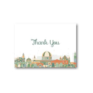Joyful Jerusalem Thank You Note