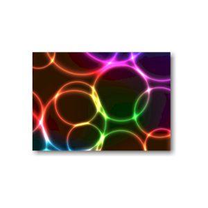 Neon Bubbles Backside