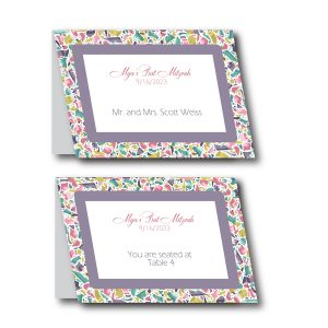 Trendy Terrazzo Place Cards