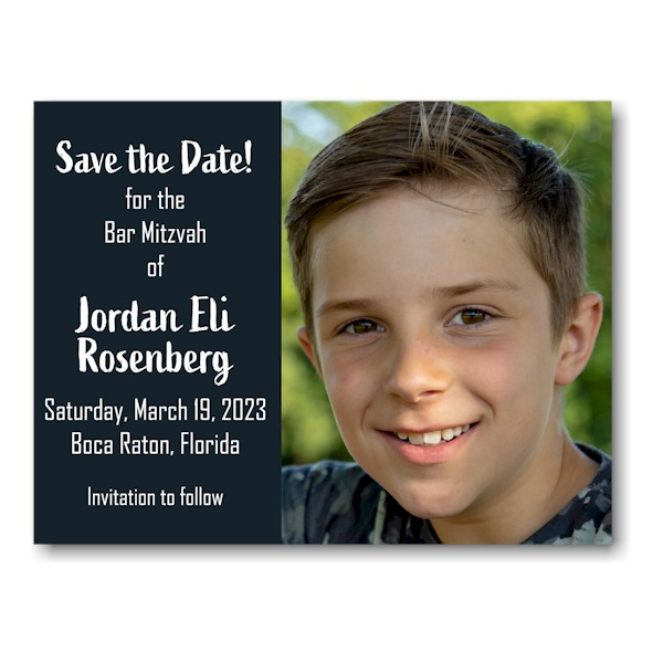 Jordan Eli Photo Save Date Magnet