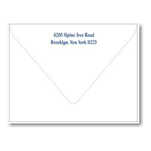 Simcha All in One Photo Bar Mitzvah Invitation Envelope Flap
