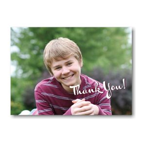 Simcha Photo Thank You Note