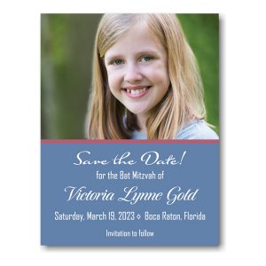 Victoria Lynne Photo Save Date Magnet