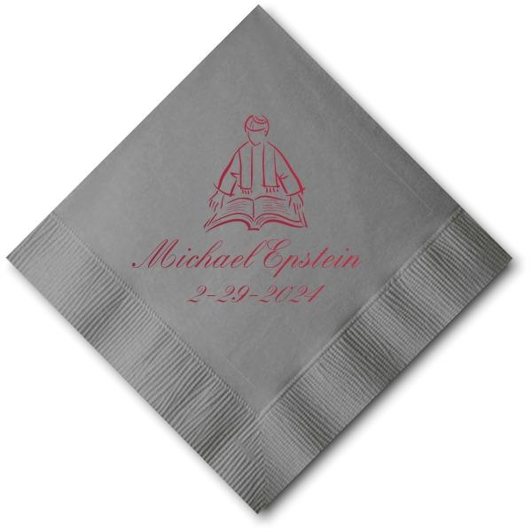 Platinum Cocktail Napkin