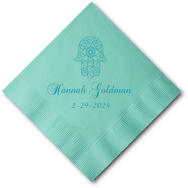 Tiffany Blue Cocktail Napkin