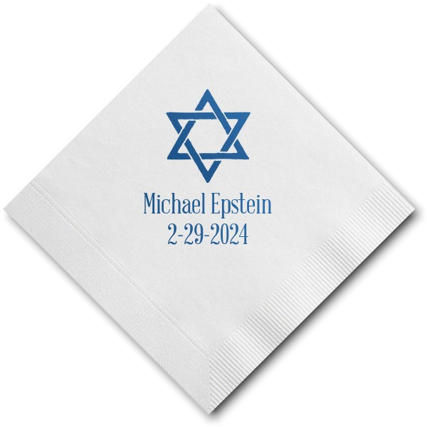 Personalized Cocktail Napkins Sample