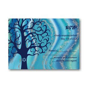 Modern Tree Response Card