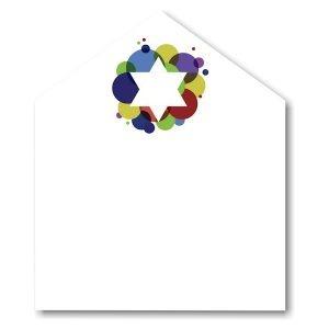Festive Star Envelope Liner
