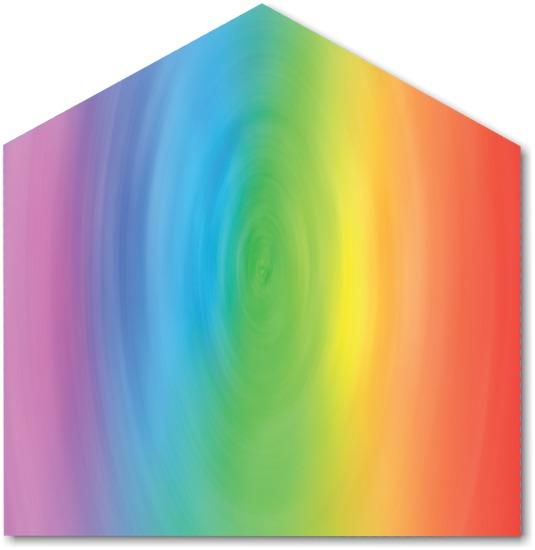 Rainbow Swirl Envelope Liner