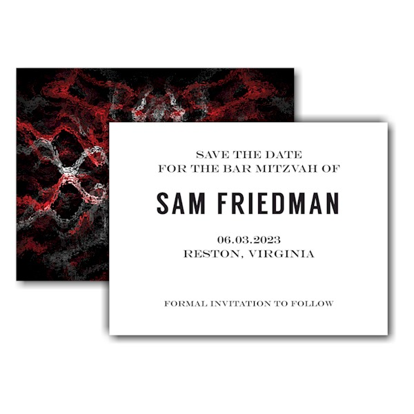 Simply Bold Save the Date Card Icon