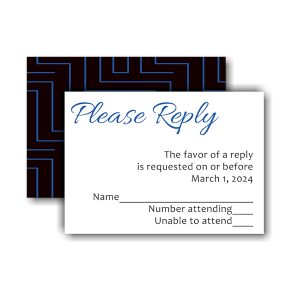 Initially Yours Response Card
