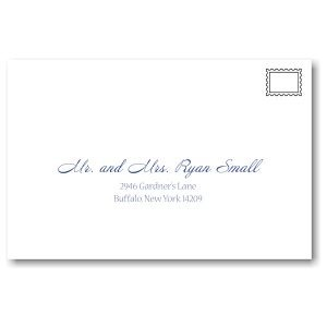 Dotted Frolic Bat Mitzvah Invitation Guest Addressing