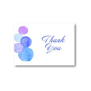 Dotted Frolic Thank You Note