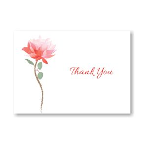 Delicate Blossom Thank You Note