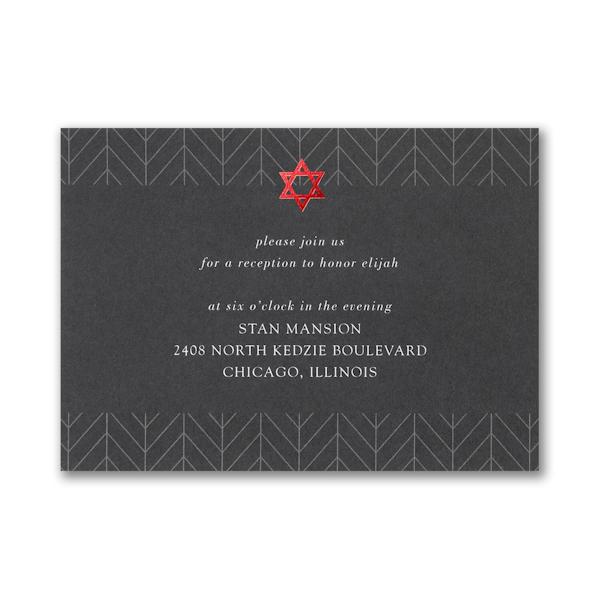 Arrowed Tradition Reception Card
