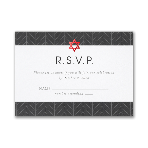 Arrowed Tradition Response Card