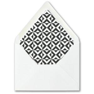 Bold Kabbala Bar Mitzvah Envelope Liner