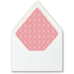 Bold Kabbala Bat Mitzvah Envelope Liner