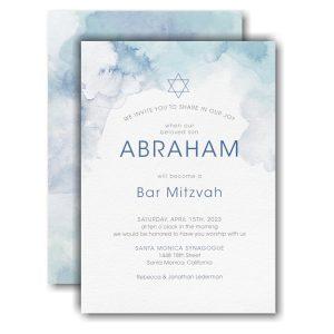 Marbled Mitzvah Bar Mitzvah Invitation Icon