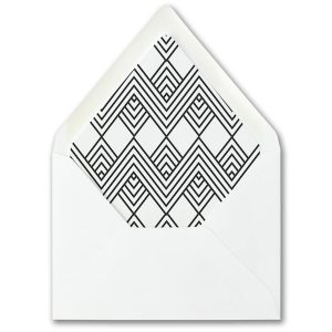 Modish Mitzvah Envelope Liner