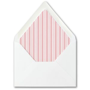 Side Patterned Envelope Liner