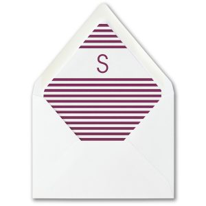 Vivid Border Layered Envelope Liner