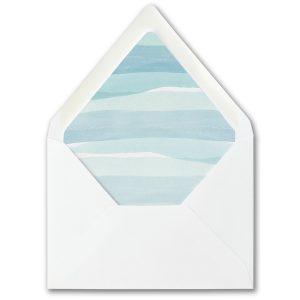 Stellar Brushstroke Bar Mitzvah Envelope Liner